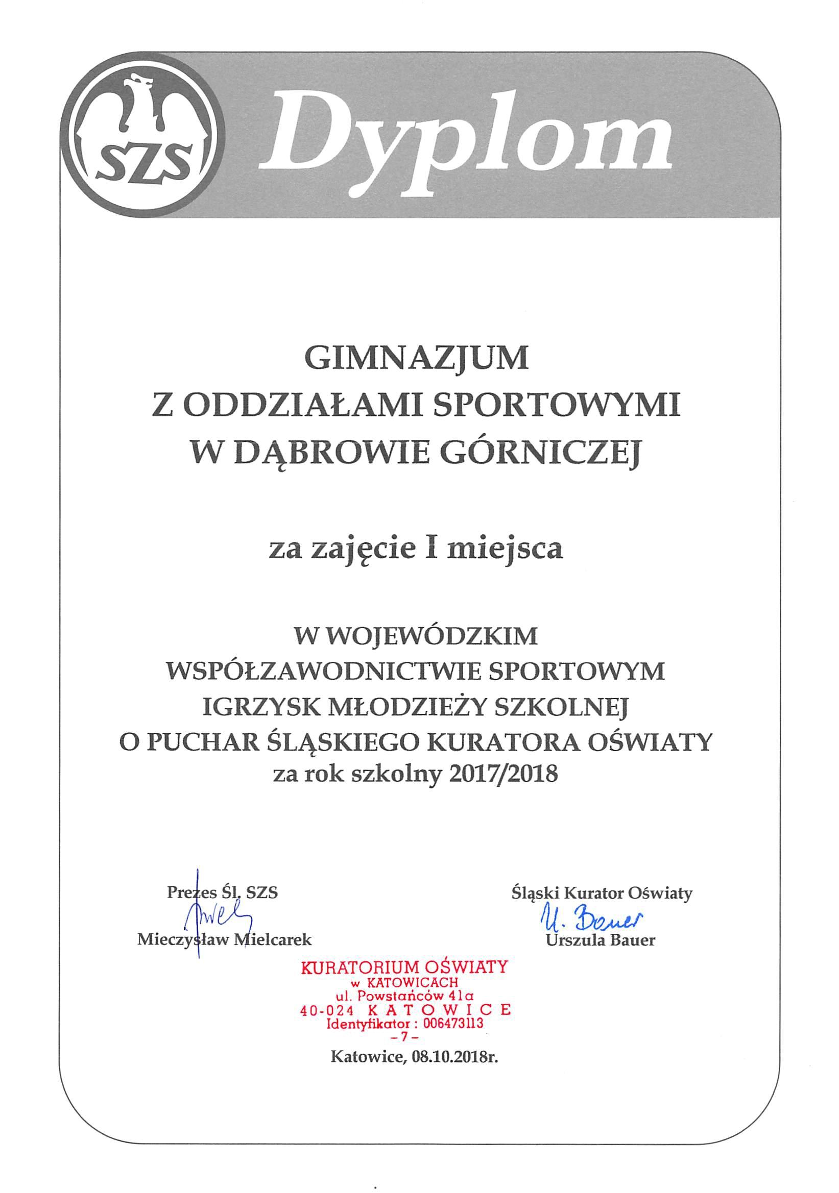 cf97eecf7f Zespół Szkół Sportowych w Dąbrowie Górniczej - Zespół Szkół ...